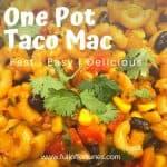All-In-One Pot Turkey Taco Hamburger Helper Replica Recipe