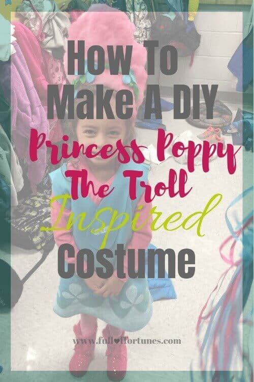 How to make a DIY Poppy Costume
