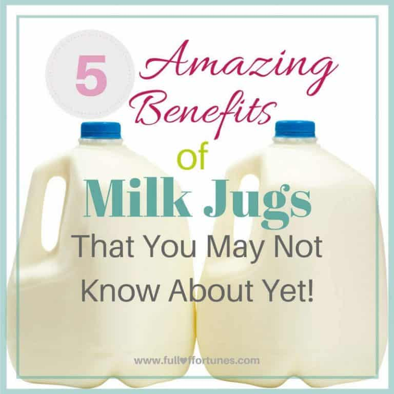 The 5 Amazing Benefits of Milk Jugs That You May Not Know About Yet