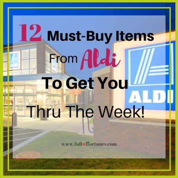 The 12 Must-Buy Items From Aldi To Get You Through The Week