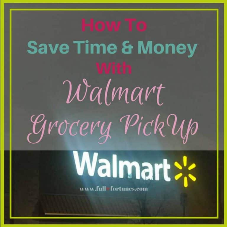 How To Save Time & Money With Walmart Grocery Pickup