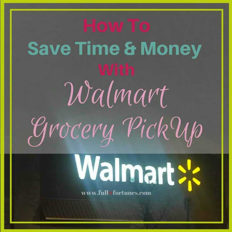 Save Time & Money With Walmart Grocery Pickup