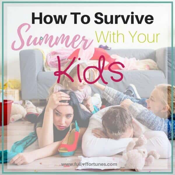 How To Survive This Summer At Home With Your Kids
