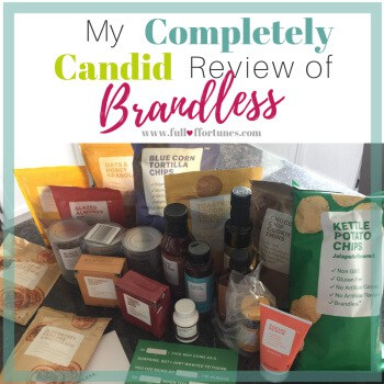 My Review of Brandless