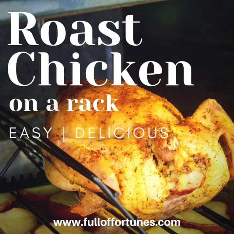 Easy & Delicious Roast Chicken On A Rack