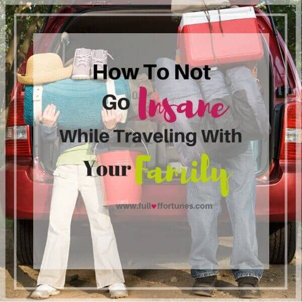 Parents, are you overwhelmed by all the things that traveling with your family entails? Check out this post for the solution to help you calm the insanity while traveling with your family.