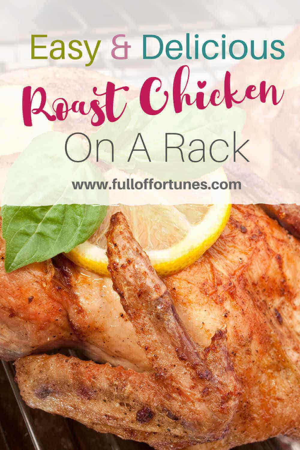 Roast Chicken On A Rack
