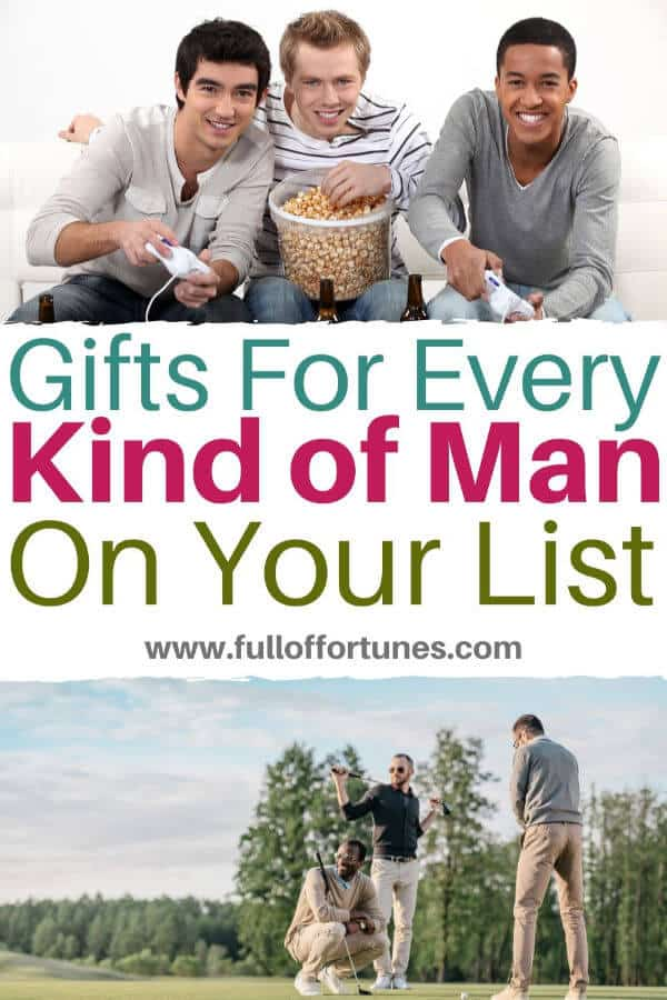 Because every guy is different, here is a list of awesome gift ideas to get him what he really wants.