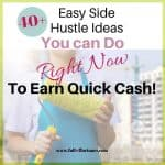 More Than 40+ Easy Side Hustle Ideas You Can Do Right Now To Earn Quick Cash