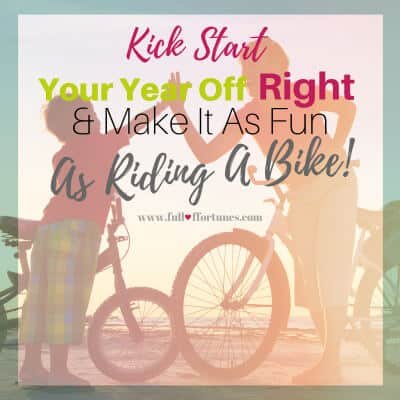 Setting Goals is like riding a bike. Kick start your goals on the right foot this year.
