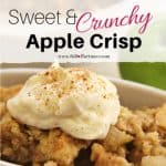 Sweet And Crunchy Apple Crisp Recipe