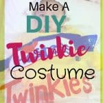 How To Make A DIY Twinkie Costume For Your Baby