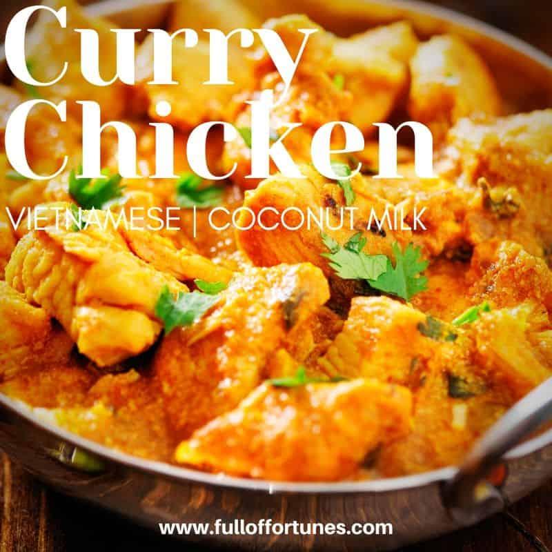 Vietnamese Coconut Milk Curry Chicken