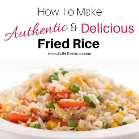 Learn How To Make Authentic & Delicious Fried Rice with this recipe.