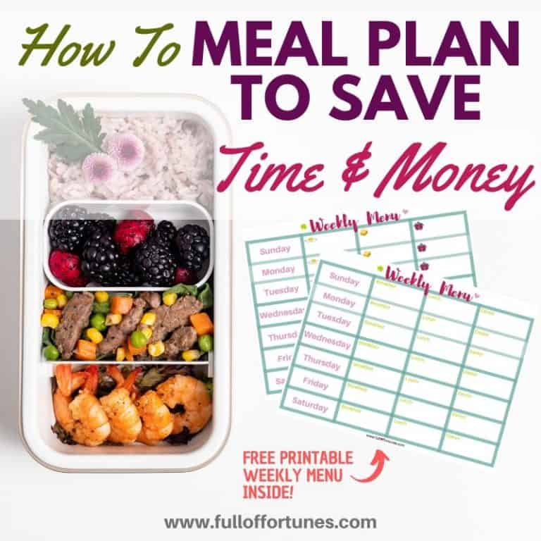 How To Meal Plan Like A Super Star