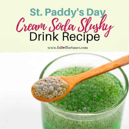 St. Paddy's Day Cream Soda Slushy