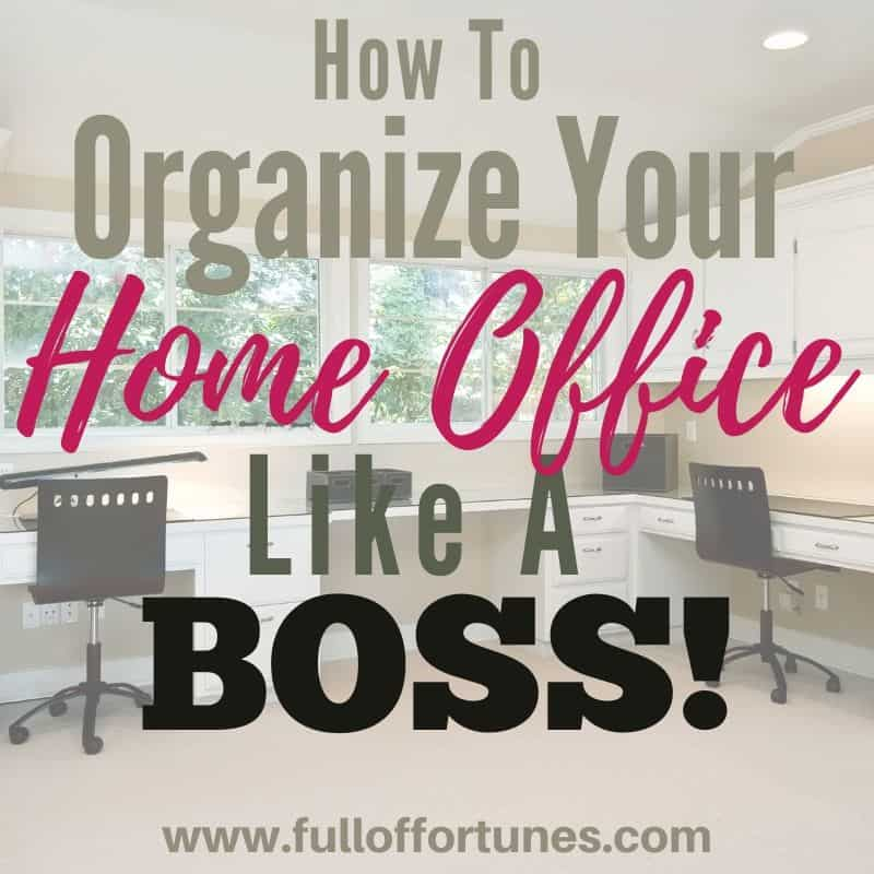 home office with double corner desks and 2 chairs