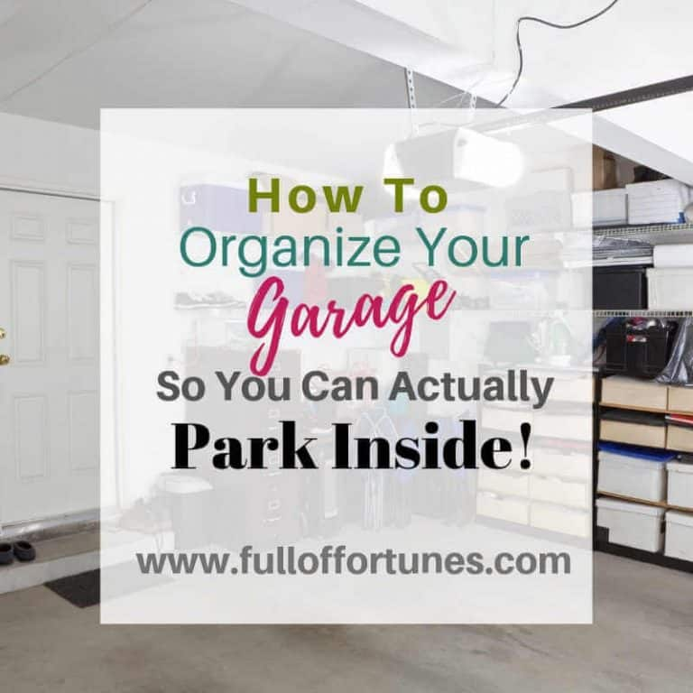 How To Organize Your Garage So You Can Actually Park Inside!