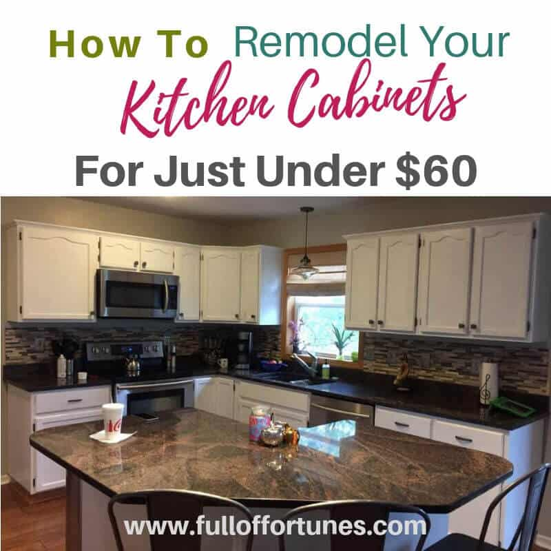 Get a new to you kitchen remodel for way under budget!