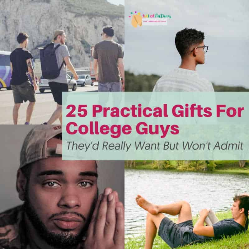 25 Practical Gifts For College Guys
