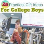 25 Practical Gifts That Will Make College Boys Go Crazy!