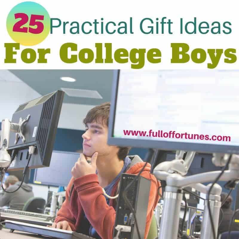 25 of the Best Gifts For College Boys