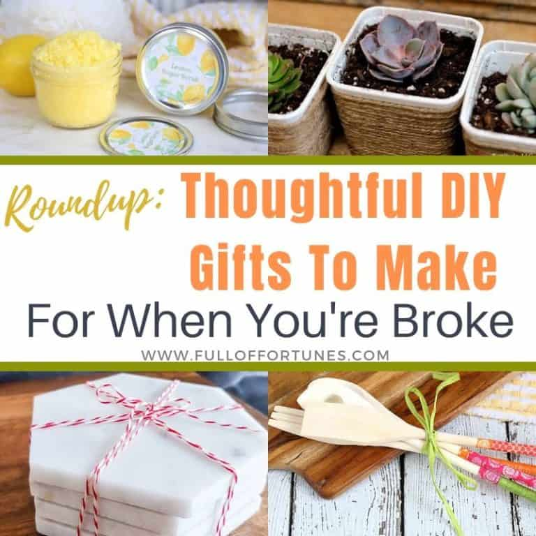 Roundup: 40 DIY Gift Ideas For When You Are Too Broke To Buy Anything Else