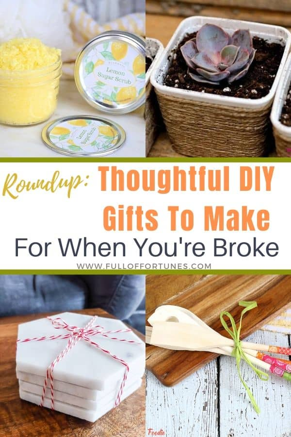 Pin2RoundUp 40+ DIY Gifts To Make Instead of Buy
