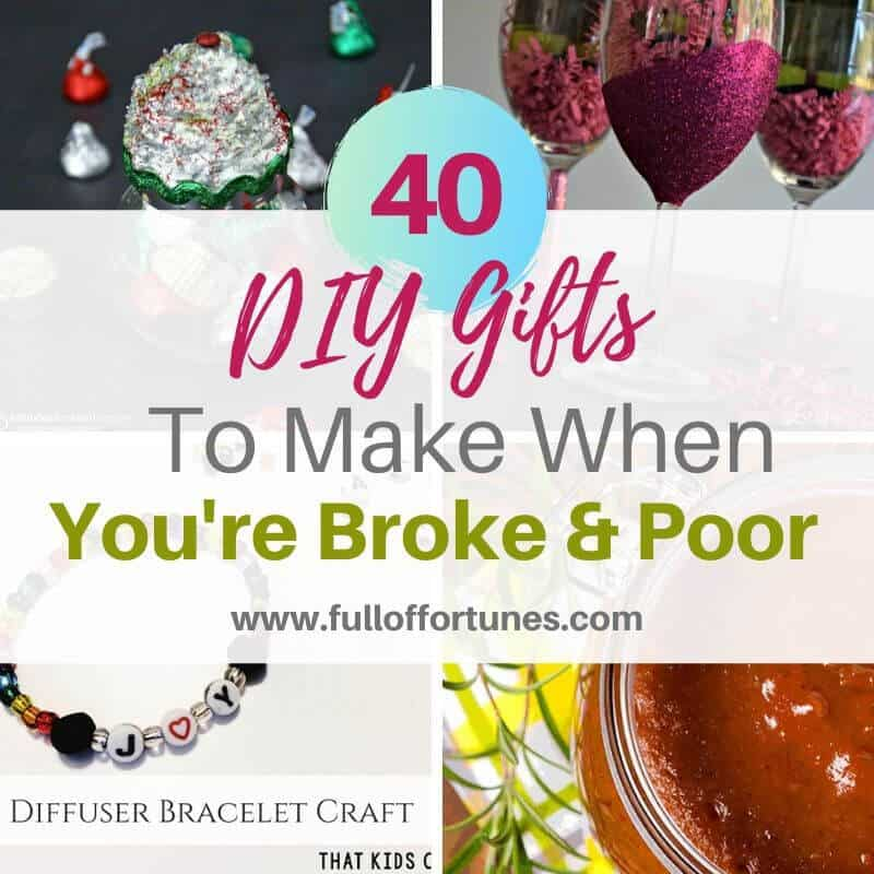 RoundUp of 40+ DIY Gifts To Make Instead of Buy