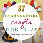 37 Easy Thanksgiving Crafts To Create With Your Kids