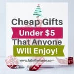 Affordable $5 Gifts & Stocking Stuffers For Everyone On Your List