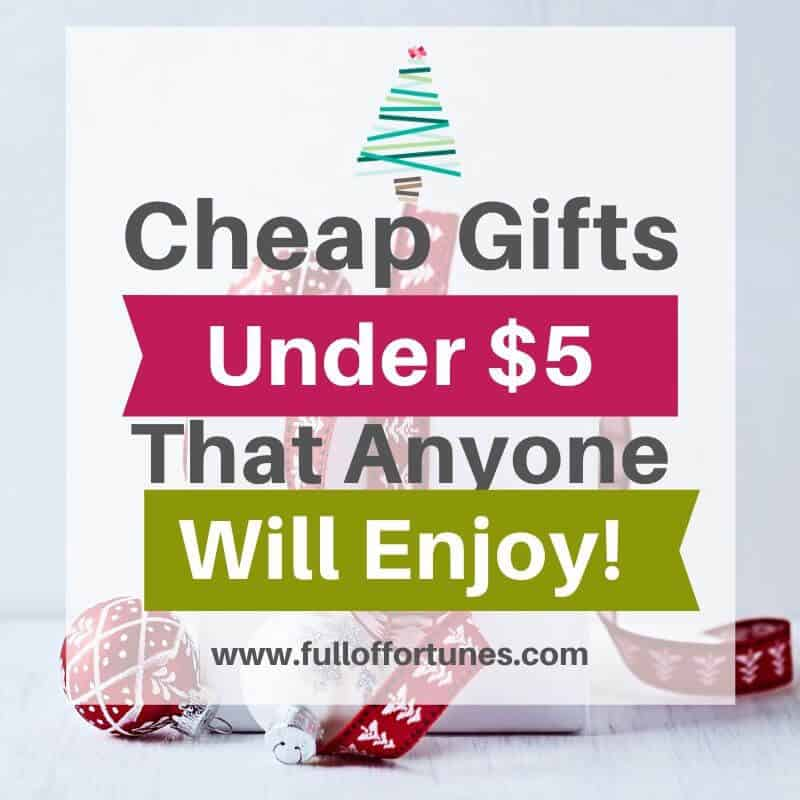 Cheap gifts under $5 for everyone on your list!