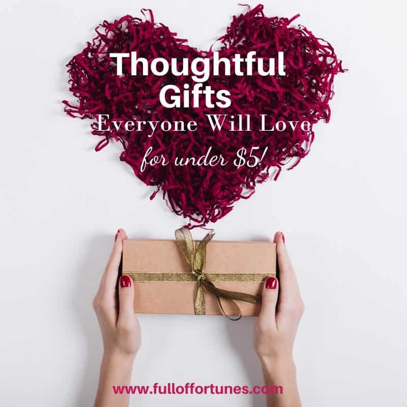 Heart Warming Gifts Everyone Will Love Under $5!