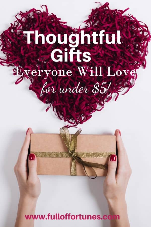 Thoughtful Gifts Everyone Will Love Under $5!