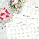 Grab Your Free Printable 2020 Monthly Calendars