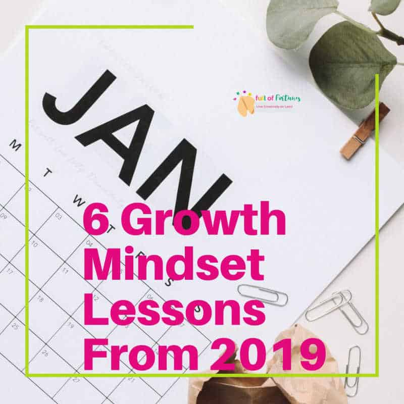 Growth Mindset Lessons From 2019