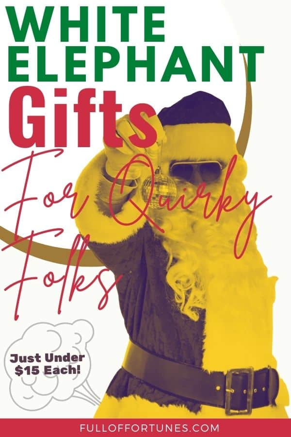 White Elephant Gifts Under $15 For The Funny People In Your Life
